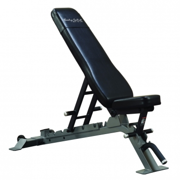Body Solid ProClubLine halterbank Flat Incline Decline Bench (SFID325G)